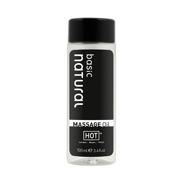 Hot Massage Oil Basic Natural 100ml