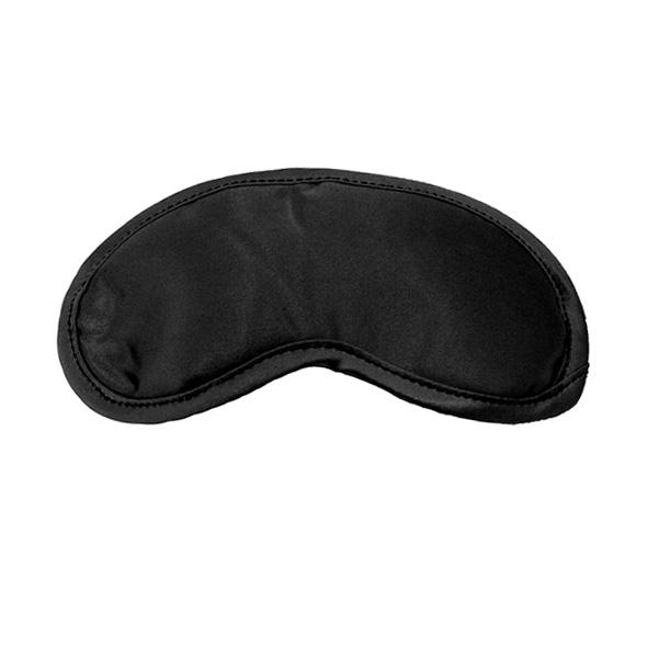 SM Satijnen Blinddoek Zwart